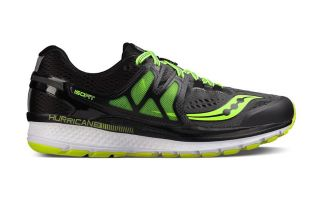 Saucony HURRICANE ISO 3 GREY YELLOW S203481
