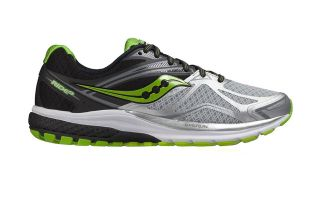Saucony RIDE 9 SILVER BLACK GREEN S203186