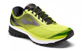 Brooks GHOST 10 JAUNE NOIR 1102571D706