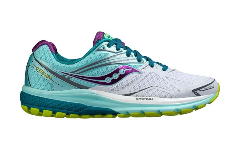 saucony ride 6 mujer blanco