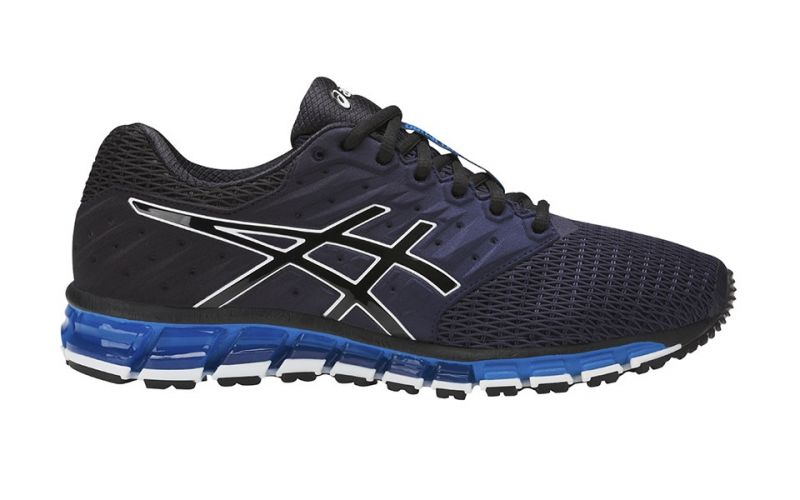 asics gel quantum 180 2 negro azul comodidad protecci n asics. Black Bedroom Furniture Sets. Home Design Ideas
