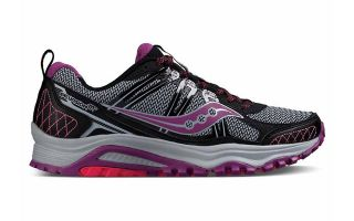 SAUCONY EXCURSION TRAIL 10 MUJER NEGRO ROSA S1530111