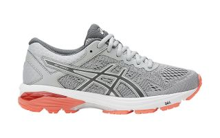 ASICS GT 1000 6 MUJER GRIS CORAL T7A9N 9697