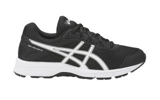 ASICS GEL GALAXY 9 GS JUNIOR NEGRO BLANCO C626N 9000