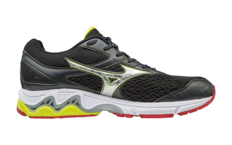 e7d107bce713 MIZUNO WAVE INSPIRE 13 Black silver lime | Best online prices