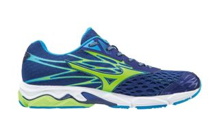 Mizuno WAVE CATALYST 2 AZUL MARINO VERDE J1GC173341