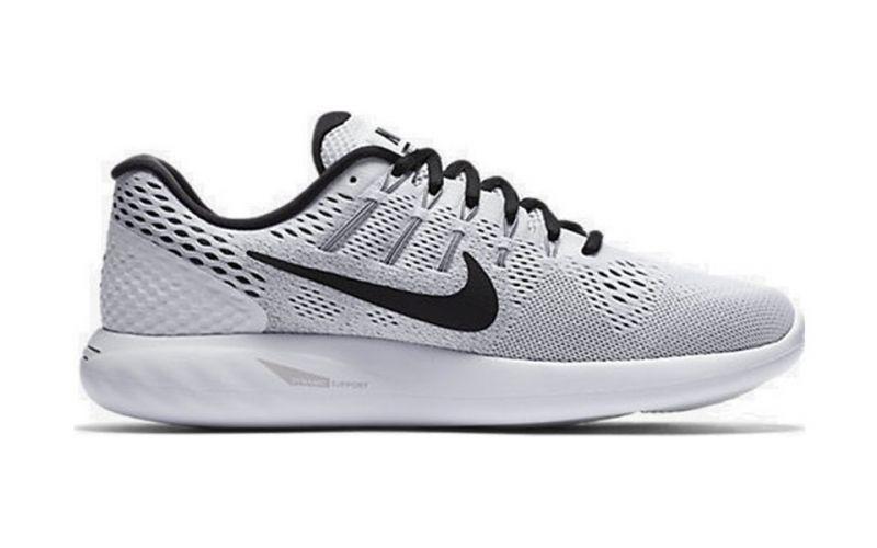 newest fe8bb 2864c Nike LUNARGLIDE 8 GREY BLACK 843725 101