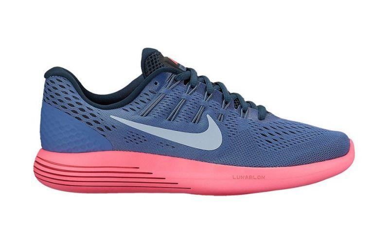 hot sale online 5b30b 89d6b Nike LUNARGLIDE 8 BLUE PINK 843726 408