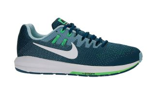 NIKE AIR ZOOM STRUCTURE 20 VERDE PETROLEO 849576 402