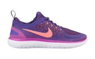 Nike FREE RN DISTANCE WOMEN PURPLE ORANGE 863776 502
