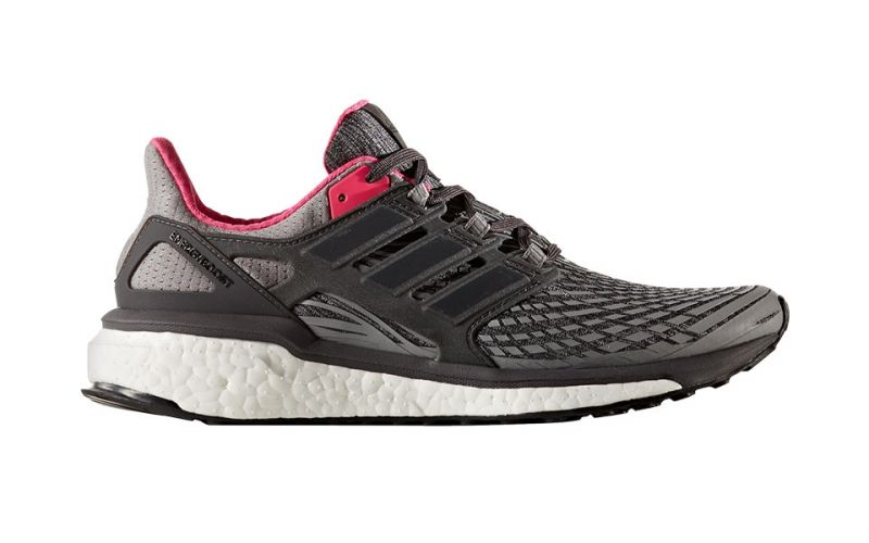 ENERGY BOOST MUJER GRIS NEGRO BB3456