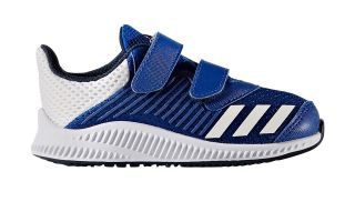 ADIDAS FORTARUN CF I AZUL BLANCO JUNIOR BY2696