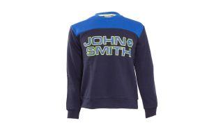 JOHN SMITH SWEAT SHIRT VAPRIO BLEU