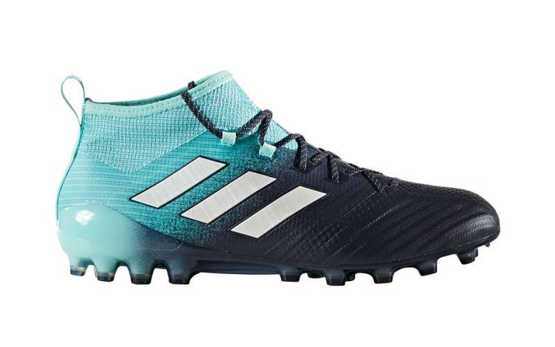 online retailer ea124 1b8e0 ACE 17.1 AG BLUE WHITE FOOTBALL BOOTS S77034