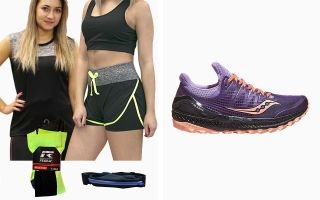 Saucony PACK XODUS ISO 3 WOMAN AND RUNAWAY T-SHIRT