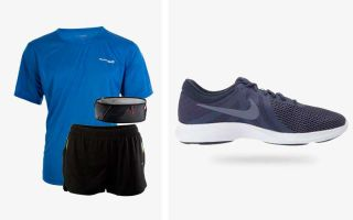 Nike PACK REVOLUTION 4 EU INDIGO AND SALOMON PULSE BELT