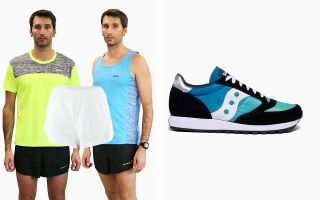 Saucony PACK ORIGINAL JAZZ VINTAGE AND PANTS AND 2 T-SHIRTS