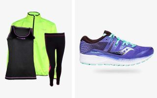 Saucony PACK RIDE ISO WOMEN PURPLE AND RUNAWAY JIM BOLT WINDBREAKER