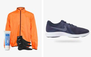 Nike PACK REVOLUTION 4 EU INDIGO AND RUNAWAY JIM BOLT ORANGE WINDBREAKER