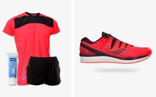 Saucony PACK FREEDOM ISO 2 AND RUNNING OUTFIT