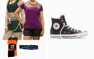 Converse PACK CHUCK TAYLOR HI TOP WOMAN AND RUNNING EQUIPMENT