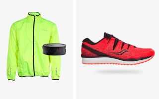 Saucony PACK FREEDOM ISO 2, WINDBREAKER AND SALOMON BELT