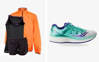 Saucony PACK TRIUMPH ISO 4 WOMEN AND RUNAWAY JIM OUTFIT
