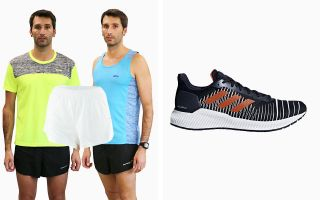 adidas PACK SOLAR RIDE F37055 AND PANTS AND 2 RUNAWAY T-SHIRTS