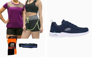Skechers PACK SKECH WOMAN AND RUNNING EQUIPMENT