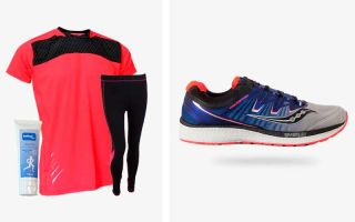 Saucony PACK TRIUMPH ISO 4 AND RUNNING OUTFIT