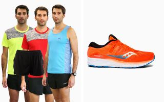 Saucony PACK RIDE ISO S20444-36 E 3 T-SHIRTS RUNAWAY