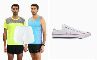 Converse PACK CHUCK TAYLOR OX CV132173C AND PANTS AND 2 T-SHIRTS