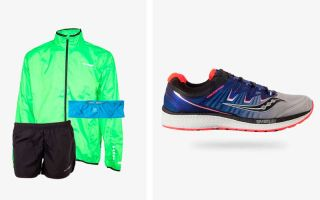 Saucony PACK TRIUMPH ISO 4 AND SALOMON PULSE BELT