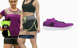 New Balance PACK ZANTE ALONE WOMAN AND 3 RUNAWAY T-SHIRTS