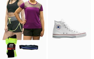 Converse PACK ALL STAR HI WOMAN AND RUNNING GEAR