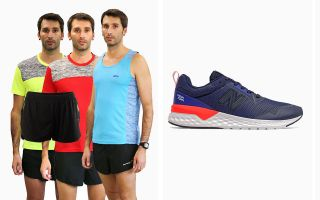 New Balance PACK 515 V2 MS515RD2 AND 3 RUNAWAY T-SHIRTS