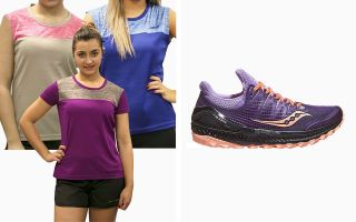 Saucony PACK XODUS ISO 3 S10449-37 FEMME ET 3 T-SHIRTS RUNAWAY