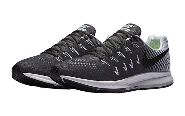 Nike Air Zoom Pegasus 33 Hombre Gris Oscuro | Ofertas Running