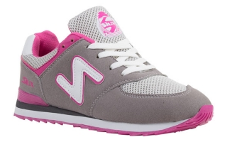 Siux TRAINERS WOMAN TSUNAMI GREY PINK