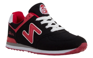 Siux TRAINERS TSUNAMI BLACK RED