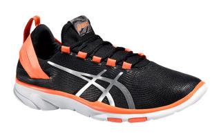 ASICS GEL FIT SANA 2 MUJER NEGRO CORAL S561N 9993