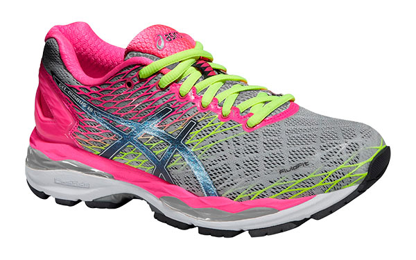 asics mujer gris