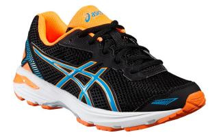 ASICS GT 1000 5 GS JUNIOR NEGRO C619N 9043
