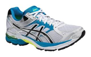 Asics GEL PULSE 7 WHITE AND BLUE T5F1N 0190