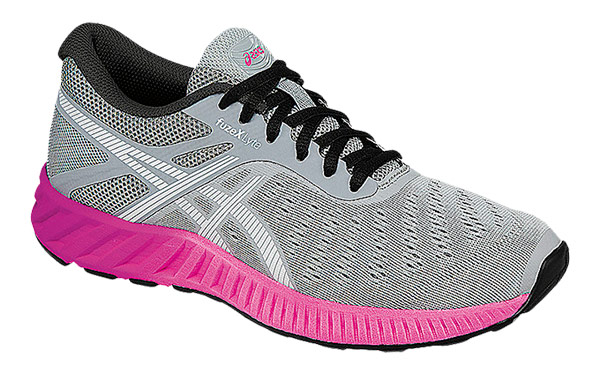 Asics Nitrofuze Mujer Gris Rosa T6h8n 9601 674OoGBsc