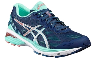 ASICS GT 1000 5 MUJER AZUL GRIS T6A8N 5893