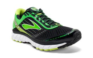 BROOKS GHOST 9 NEGRO VERDE 1102331D071
