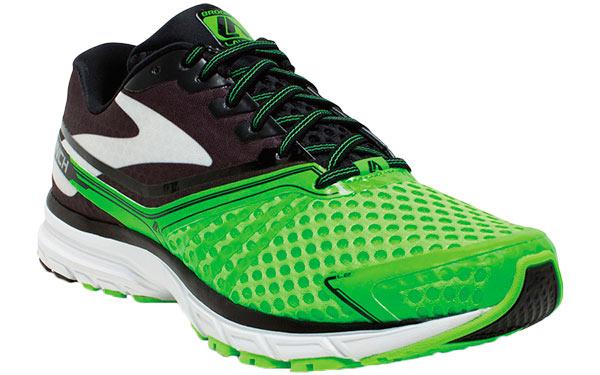 Brooks Launch 2 Black Green- Footwear