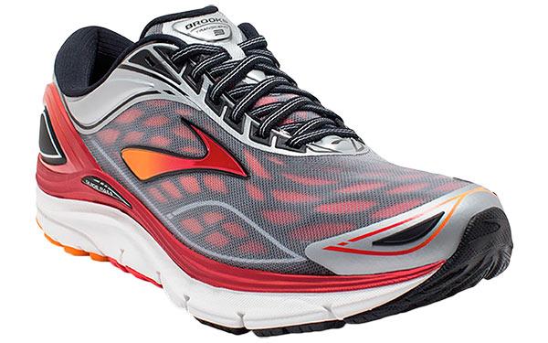 Brooks Transcedn 3 Grey Red | Running