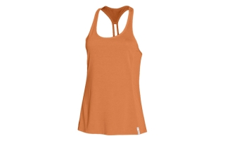 UNDER ARMOUR CAMISETA NARANJA FLY BY STRETCH